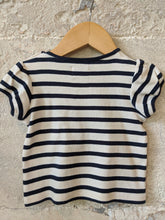 Load image into Gallery viewer, Gorgeous Weekend à la Mer Breton Striped T shirt 9 Months