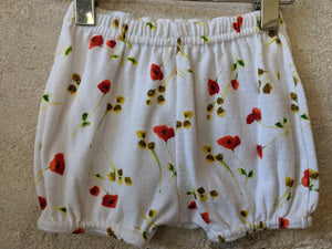 Pretty Poppy Shorts & T Shirt Set