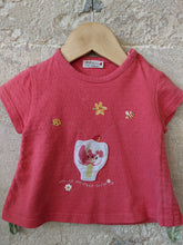 Load image into Gallery viewer, Catimini T Shirt with Secret Tulip Pocket 6 Months
