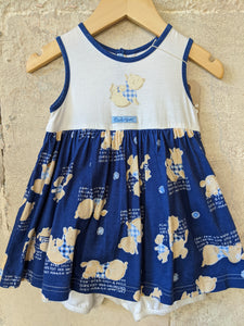 Cute French Vintage Romper Dress 9 Months