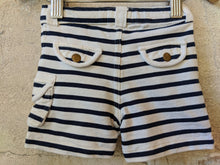 Load image into Gallery viewer, Bout'Chou Breton Striped Shorts - 9 Months