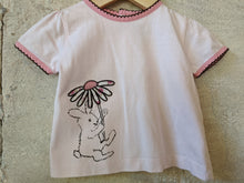 Load image into Gallery viewer, Sergent Major Pretty Pink Rabbit T Shirt 9 Months
