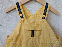 Load image into Gallery viewer, Sunny Yellow Cotton Dungarees 12 Months