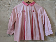 Load image into Gallery viewer, French Antique Child's Girl's Pink Tunic