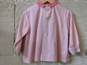 Beautiful Kids Old-Clothes  Pink Antique School Tunic
