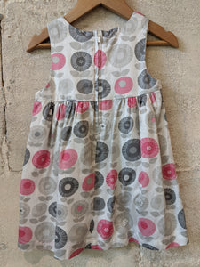 Cool Scandi Style French Summer Dress 12 Months