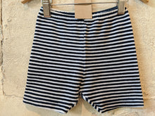 Load image into Gallery viewer, Velvety Retro Soft Striped Shorts 18 Months