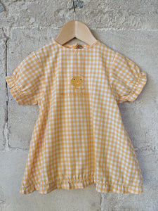 Cheery Checked Chick Summer Dress 18 Months
