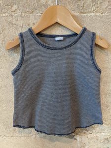 Petit Bateau Striped Vest Top 2 Years