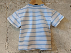 Armor Lux Breton Stripe Cotton T Shirt 12 Months