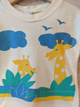 Load image into Gallery viewer, Amazing Vintage Giraffe T Shirt 2 Years