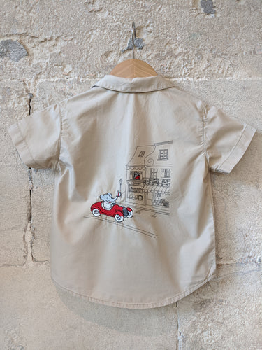 French preloved boys secondhand clothes shirt 2 Years