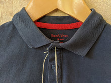 Load image into Gallery viewer, Classic Bout'Chou Navy Blue Polo Shirt 18 Months