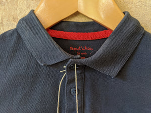 Classic Bout'Chou Navy Blue Polo Shirt 18 Months