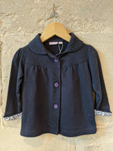 Load image into Gallery viewer, Classic Navy Soft Cotton Jacket 18 Months