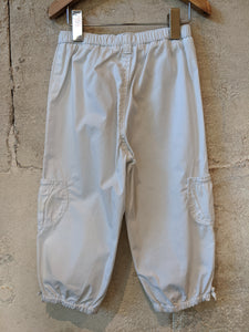 Bout'Chou White Cotton Summer Trousers 2 Years