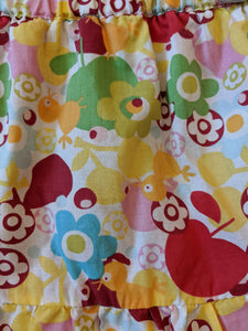 Bold, Bright and Cheerful Floaty Skort 2 Years