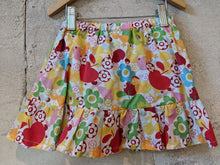 Load image into Gallery viewer, Bold, Bright and Cheerful Floaty Skort 2 Years