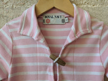 Load image into Gallery viewer, Pink Breton Fisherman's Smock Top 12 Months