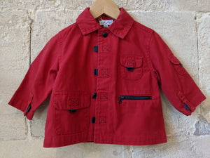 Fabulous French Utility Style Jacket 12 Months