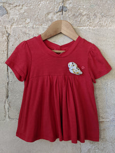 Super Sergent Major Floaty Red Bird T Shirt 2 Years
