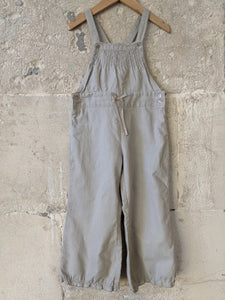 Lovely Linen Preloved Girls Dungarees Kids Secondhand Clothes 3 Years