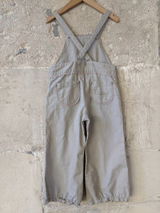 Secondhand Linen Children's Dungarees High-Quality-Preloved-Clothes 2-3 Years