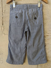 Load image into Gallery viewer, Bout'Chou Powder Blue Linen Trousers 18 Months