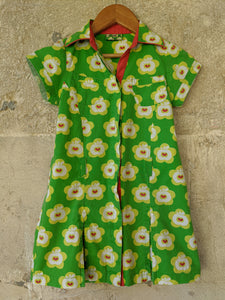 Scandi Print Apple 60s Style T Shirt Dress 5 Years