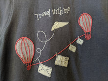 Load image into Gallery viewer, French Hot Air Balloon Romper 12 Months