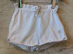 Petit Bateau Immaculate White Shorts 3 Years