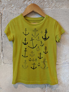 Cool Nautical French T Shirt 4 Years