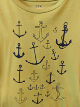 Load image into Gallery viewer, Cool Nautical French T Shirt 4 Years