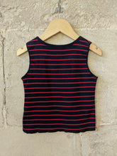 Load image into Gallery viewer, Armor Kids Designer Striped Reversible Vest T Shirt 2 Years