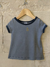 Load image into Gallery viewer, Petit Bateau A-Line Striped T Shirt 2 Years