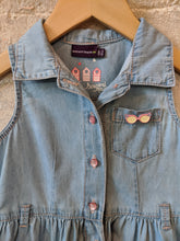 Load image into Gallery viewer, Sergent Major Sunny Denim Shirt Dress 3 years