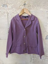 Load image into Gallery viewer, French Designer Lili Gaufrette Lilac Soft Cotton Jacket 8 Years