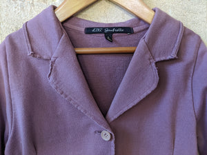 French Designer Lili Gaufrette Lilac Soft Cotton Jacket 8 Years