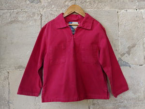 Brilliant Bright French Mousqueton Fisherman's Smock Top 7 Years