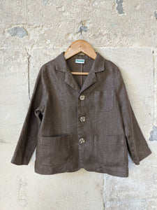 Rather Splendid French Linen Jacket 4 Years