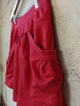 Load image into Gallery viewer, Cool & Comfy Red Skirt - 12 Years