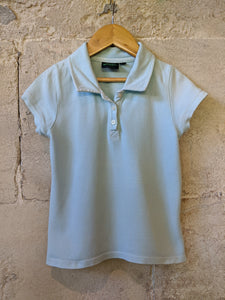 Pastel Blue Polo Shirt - 6 Years