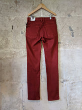 Load image into Gallery viewer, Monoprix Slim Fit Rust Denim Jeans NEW - 10 Years