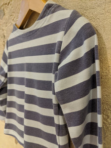 Fab French Wide Striped Cotton Top - 18 Months