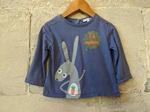 Vegetarian Rabbit Long Sleeved Top - 18 Months
