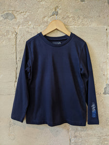 Classic French Navy Long Sleeved Top - 6 Years