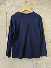 Load image into Gallery viewer, Classic French Navy Long Sleeved Top - 6 Years