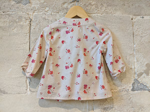 Gorgeous French Floral Tunic - 12 Months