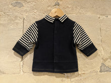 Load image into Gallery viewer, Catimini Breton Striped Sweet Tunic - 6 Months