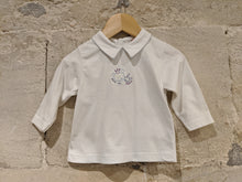 Load image into Gallery viewer, Soft Cotton Vintage Teddy Bear & Bunny Tunic - 6 Months